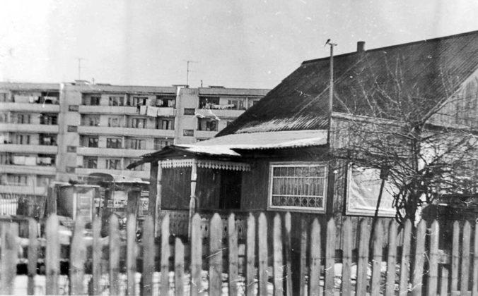 Место будущего Комсомольского квартала.