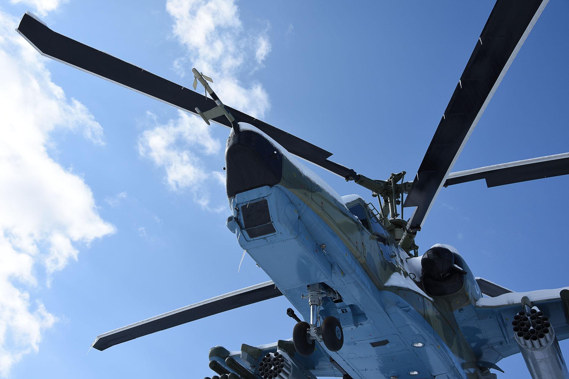 Вертолёт Ка-50.