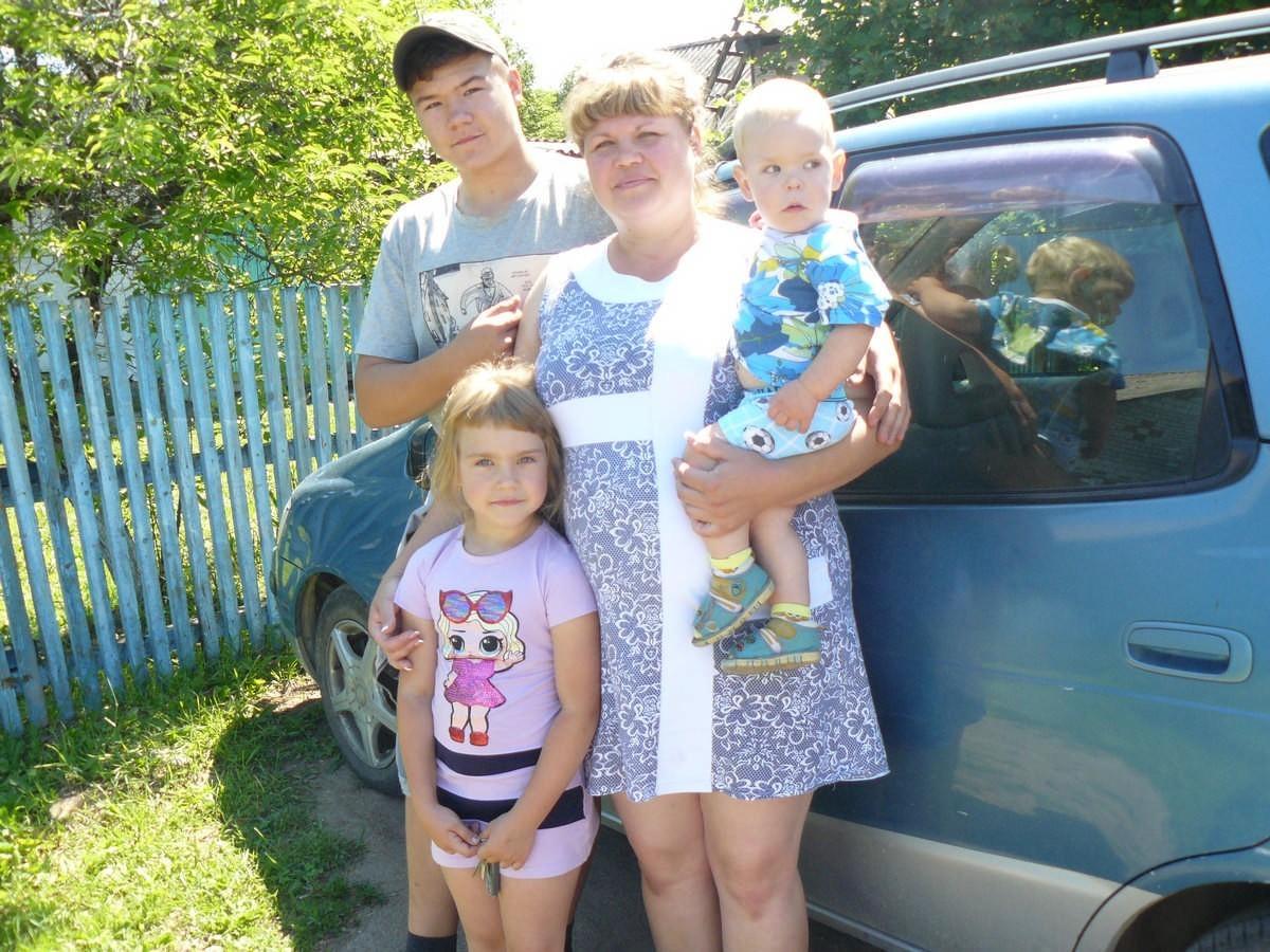 Семья из Яковлевки