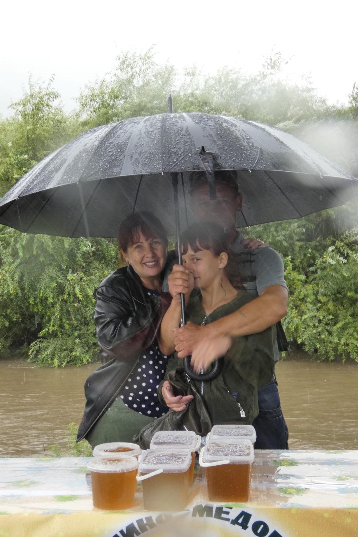Дождь, мёд, семья