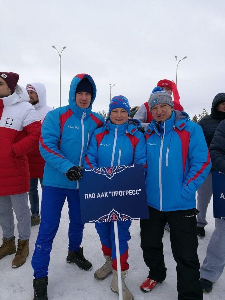 Зимние виды спорта - наш конёк
