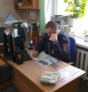 Виктор Шокол стал лучшим участковым в Арсеньеве