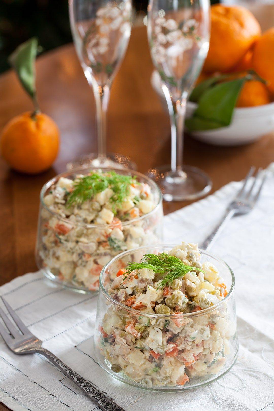 """""""Оливье"""" - русский салат с французскими корнями"""