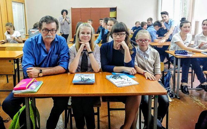 Андрей викторович Боровой с учениками.