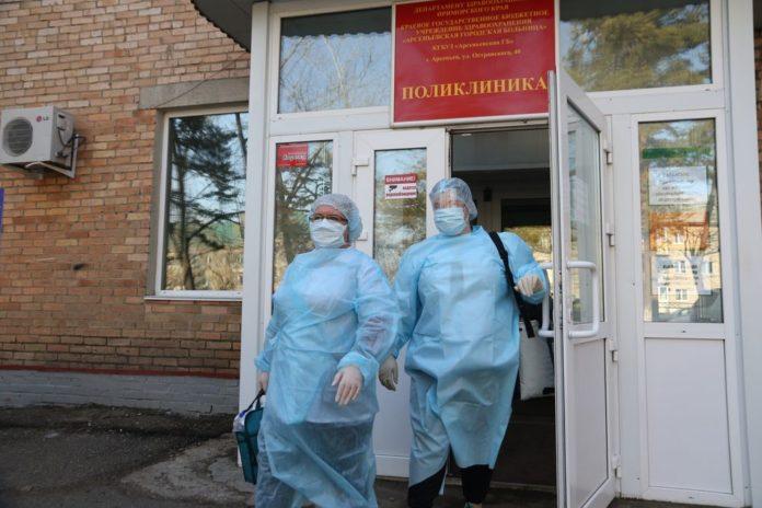 Медики Арсеньева: к забору биоматериала для тестов на коронавирус готовы.