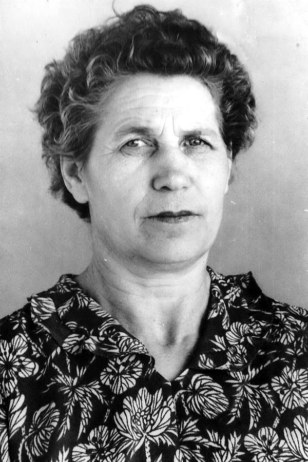 Калитина (Сахарова) Анна Павловна