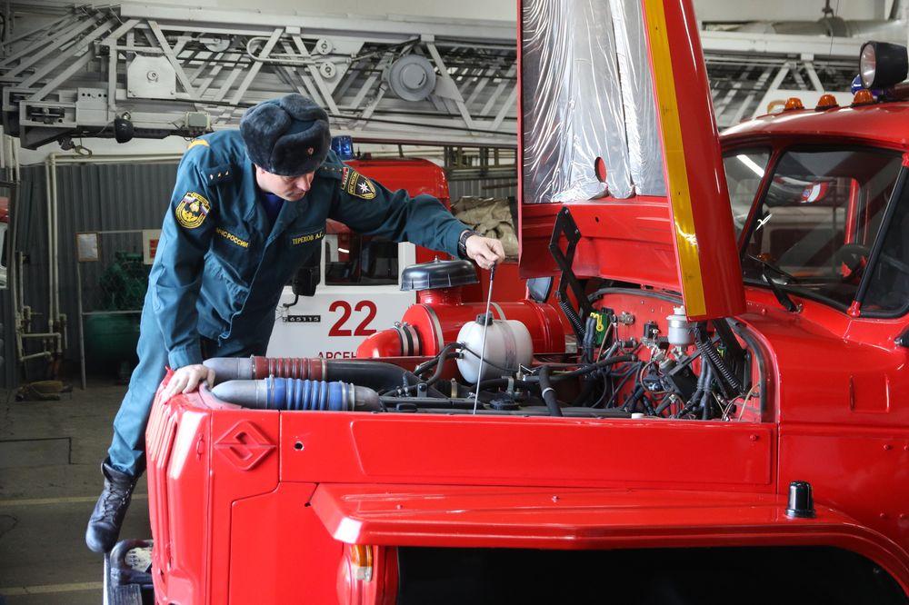 Пожарная машина как никакая другая должна быть в исправном состоянии