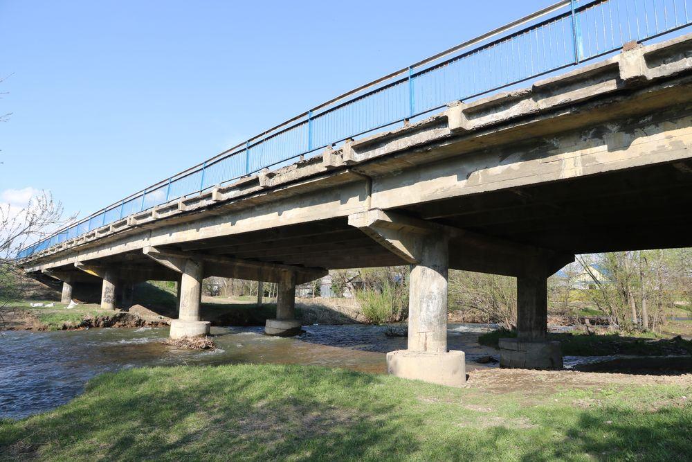 Мост через Халазу