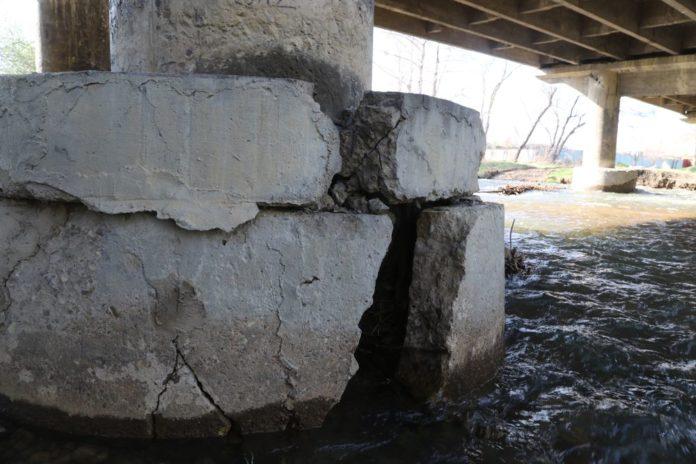 Мост через Дачную