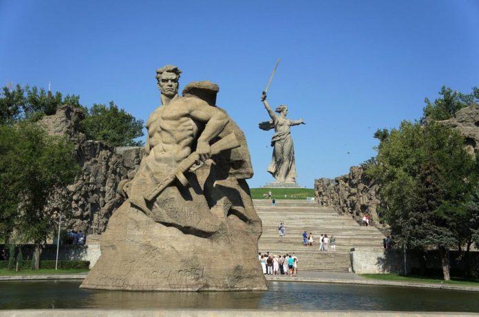 Монумент Сталинград