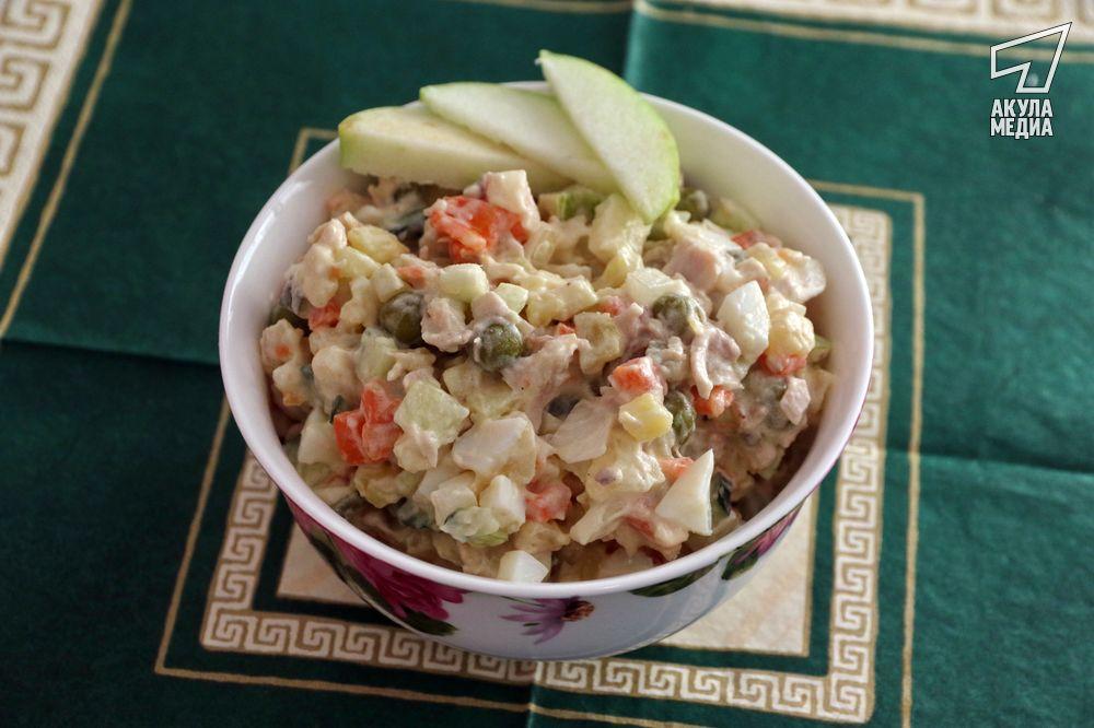 Старый салат на новый лад