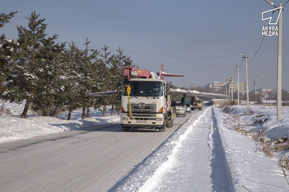 Транспортировка МиГ15УТИ