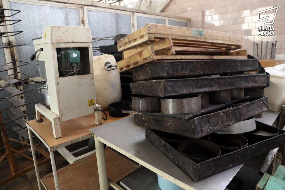 Старое оборудование хлебокомбината