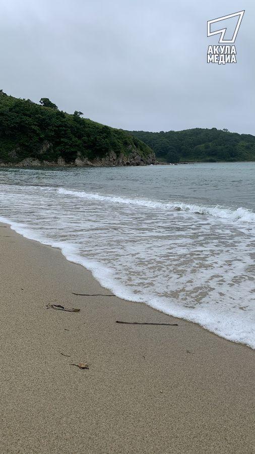 Берегом моря...